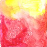 Abstract watercolor vector background Stock Images