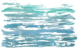 Abstract watercolor vector background Stock Photo