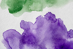 Abstract watercolor spot painted texture background Royalty Free Stock Photography
