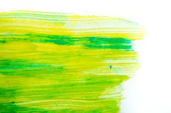 Abstract watercolor on white background Royalty Free Stock Photography