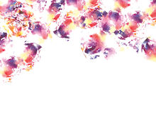 Abstract watercolorl background Royalty Free Stock Photography