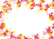Abstract watercolorl background. Royalty Free Stock Photo