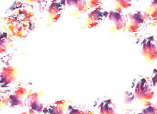 Abstract watercolorl background. Royalty Free Stock Images
