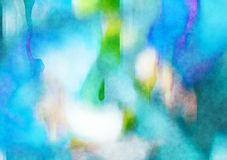 Abstract Watercolour Texture Stock Photo