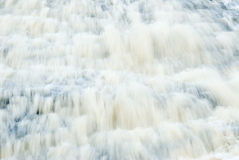 Abstract Waterfall Long Exposure Photography Stock Image