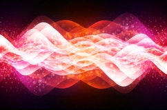 Abstract Wave. Abstract abstraction art artistic backdrop background banner stock illustration