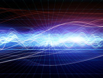Abstract Wave Analyzer Stock Images