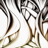 Abstract wave background Royalty Free Stock Photos
