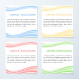 Abstract wave background banners Stock Image