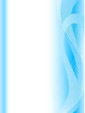 Abstract wave background. Abstract background with blue wave Stock Photo