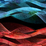 Abstract wave background Stock Image