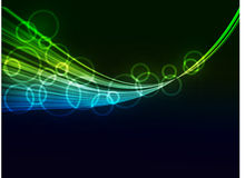 Abstract   wave   background. Abstract  background with color   wave Stock Photos