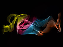 Abstract wave background colour Stock Image