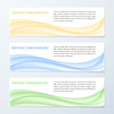 Abstract wave background. Design template. Vector illustration Royalty Free Stock Image