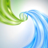 Abstract wave background royalty free illustration