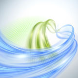 Abstract wave background stock illustration