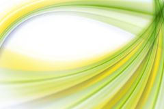 Abstract wave background green Stock Image