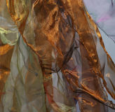 Abstract wave background organza Royalty Free Stock Photography
