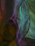 Abstract wave background organza Stock Images