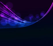 Abstract   wave   background. Abstract  background with smoke   wave Royalty Free Stock Photos