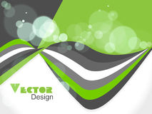 Abstract wave background, vector illustration Stock Photos