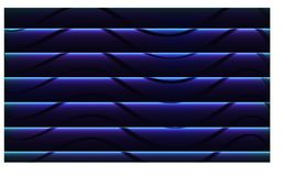 Abstract wave black to blue , abstract background and wallpaper - vector eps10 stock illustration