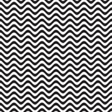 Abstract wave black and white pattern . Stock Images