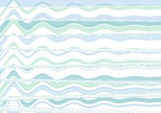 Abstract wave blue wallpaper Royalty Free Stock Photography