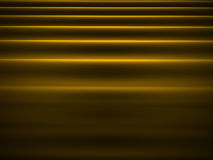 Abstract wave cloth on yellow Royalty Free Stock Images