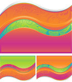 Abstract wave design Stock Image