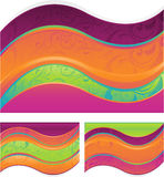 Abstract wave design Stock Images