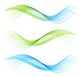 Abstract wave design element Stock Images