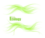Abstract wave ecology concept Royalty Free Stock Photo