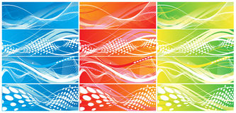 Abstract wave element Royalty Free Stock Photo