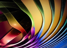 Abstract Wave. Fantastic colorful fractal Design Stock Photo