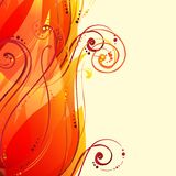 Abstract wave light vector background Royalty Free Stock Photo