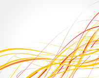 Abstract wave line background royalty free illustration