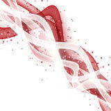 Abstract wave modern layout stock illustration