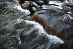 Abstract wave pattern on the flowing river. Nature background Abstract wave pattern on the flowing river Stock Photo