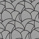 Abstract wave pattern seamless Stock Photography