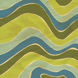 Abstract Wave Pattern on Wood Grain Royalty Free Stock Images