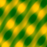 Abstract Wave Pattern. Yellow Green Background. Blurred Decorative Illustration. Art Texture. Soft Colored Artwork. Simple Image. Royalty Free Stock Photos