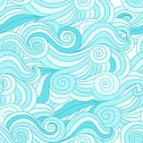 Abstract wave pattern for your design. Vector illustration Stock Photography
