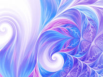 Abstract wave psychedelic oil background. Fractal artwork for creative design. Stock Photos