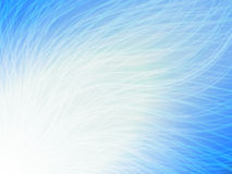 Abstract wave radiation. Blue Wallpaper Royalty Free Stock Image
