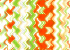 Abstract wave shiny wallpaper Royalty Free Stock Photography