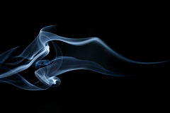 Abstract wave and smoke background Stock Photography