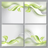 Abstract wave spring background Stock Images