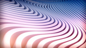 Abstract wave stripes background. Royalty Free Stock Photo