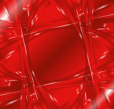 Abstract wave swirl red background Royalty Free Stock Photo